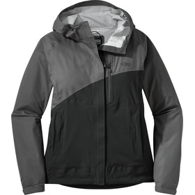 Outdoor Research Panorama Point Jacket Dam charcoal herringbone/black